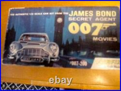 Airfix James Bond 007 Aston Martin Db-5 Orig. 1960's Issue Kit #007-200