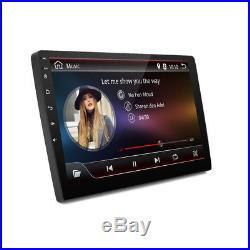 Android 7.1 2Din 10.1 HD Car Stereo GPS Radio Head Unit BT DAB OBD 3G/4G WiFi