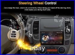 Android 8.0 Double 2Din 9 Car Stereo GPS Radio 4GB RAM 8-CORE TPMS WiFi Player