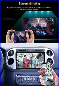 Android 8.1 Car Stereo Radio 2 DIN 9 Player GPS Wifi BT DAB Mirror Link OBD