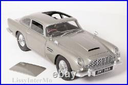 Aston Martin DB 5 James Bond Goldfinger 007 silber Hot Wheels 118 NEU OVP CMC95