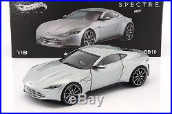 Aston Martin DB10 James Bond Spectre 2015 silber 118 HotWheels Elite