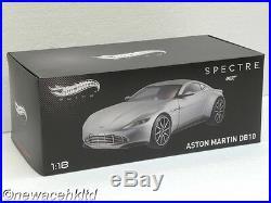 Aston Martin DB10 Spectre 007 James Bond HOTWHEELS Elite MODEL 1/18 #CMC94