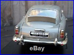Aston Martin DB5 James Bond 007 Joyride ERTL 118 1965 Detailed Toy Model Car