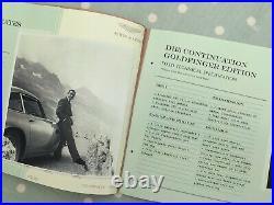 Aston Martin Db5 James Bond Continuation Goldfinger Edition Press Brochure Pack
