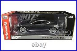 Aston Martin Dbs Silver Quantum Of Solace James Bond 1/18 Car Autoworld Awss123