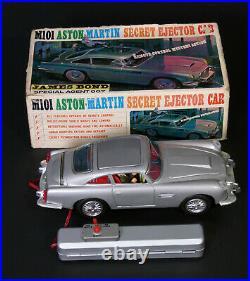 Aston Martin James Bond 007 Goldfinger Japan Toys Jouet Ancien Des Annees 1960