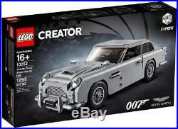 Aston Martin James Bond Db5 Rare Lego Set Creator 10262 Expert New Sealed