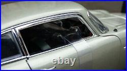Autoart 118 Aston Martin DB5 007 James Bond Ejector Seat Weapons Toy Car Model