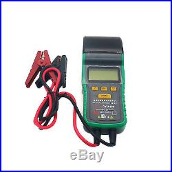Automotive Battery Tester 12V Battery Load Analyzer Diagnostic Tool with Printer