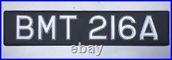 BMT216A James Bond 007 Aston Martin Reproduction DB5 Registration Plate Tag