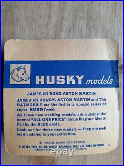 BOXED (1001) HUSKY JAMES BOND 007 Aston Martin db6
