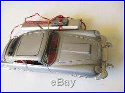 Blechspielzeug Auto Car James Bond 007 Aston Martin DB5 30 cm Japan 60er Jahre