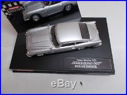 CARRERA ASTON MARTIN DB5 JAMES BOND 007 GOLDFINGER 1/32 SCALE SLOT CAR No. 25735