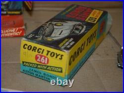 CORGI 261 JAMES BOND 007 ASTON MARTIN DB5 GOLDFINGER excellent condition