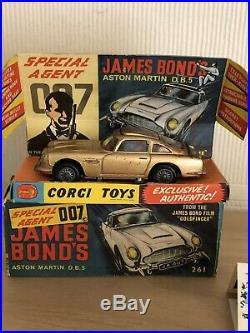 CORGI 261 JAMES BOND'S ASTON MARTIN DB5 EXCELLENT in original BOX