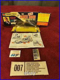 CORGI 270 ASTON MARTIN Db5 JAMES BOND 1968 rare my private collection