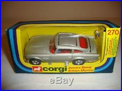 CORGI 270 JAMES BOND 007 ASTON MARTIN DB5 EXCELLENT in original BOX