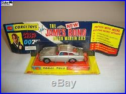 CORGI 270 JAMES BOND ASTON MARTIN DB5 EXCELLENT in original BOX