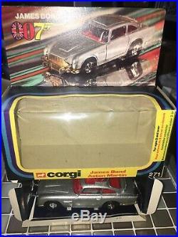 CORGI JAMES BOND 007 ASTON MARTIN DB5 No. 271 MINT CONDITION