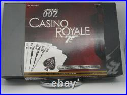 CORGI JAMES BOND 007 CASINO ROYALE BRIEFCASE SET w ASTON MARTIN'LIMITED EDITION