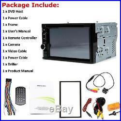 Car CD DVD Radio Stereo Touchscreen & Camera For Chevy GMC Honda Hyundai Toyota