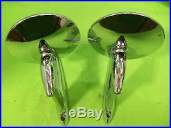 Cool Vintage Mirrors Nice RatRod Custom MOPAR FORD CHEVY