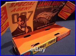 Corgi 1960's 007 James Bond Aston Martin DB5 No 261 N/MINT Ex Shop Stock