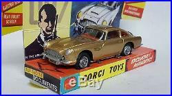 Corgi 261 Aston Martin Db5 James Bond 007 1965