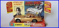 Corgi 261 James Bond 007 Aston Martin Db5 1965. Original First Issue Car