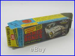 Corgi 261 James Bond 007 Aston Martin Db5 1966 Original Very Good Condition Aa+