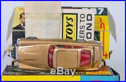 Corgi 261 James Bond Aston Martin DB5. Gold. VNMINT in VNMINT Box. 1966