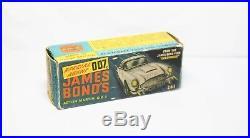 Corgi 261 James Bond Aston Martin DB5 In Its Original Box Near Mint Vintage