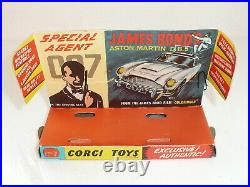 Corgi 261 James Bond Aston Martin DB5 VnrMint withAccessories Boxed original