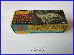 Corgi 261 James Bond Aston Martin DB5 With The Best Box Ever