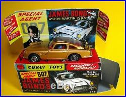 Corgi # 261 James Bond Aston Martin Db5