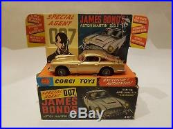 Corgi 261 James Bond Aston Martin Db5 1965 Original Boxed
