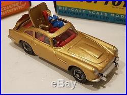 Corgi 261 James Bond Aston Martin Db5 1965 Original Boxed