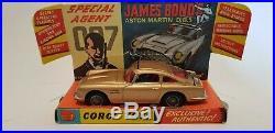 Corgi 261 James Bond Aston Martin Db5 54 Yrs Stored