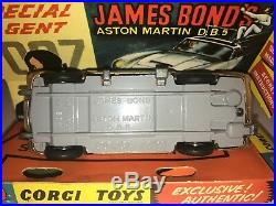 Corgi 261 James Bond Aston Martin Db5 Stunning, Complete Minty All Original