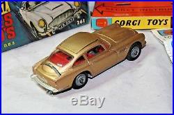 Corgi 261 James Bond Aston Martin, Superb Condition, Excellent Original Box