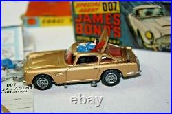 Corgi 261 James Bond Aston Martin, Very Near Condition, Good Original Box