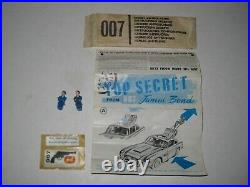 Corgi 261 James Bond Goldfinger Original complete fully working set