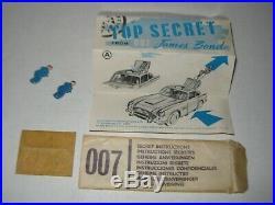 Corgi 261 James Bond Goldfinger Original excellent complete set, fully working