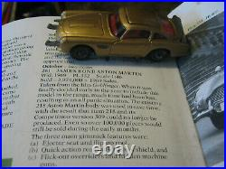 Corgi 261 James Bond Very Good Original Aston Martin Car As Shown Completeset