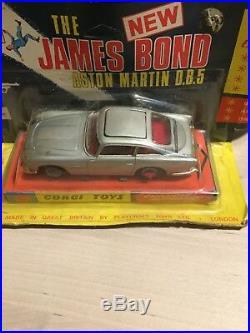 Corgi 270 And 271 James Bond 007 Aston Martin DB5 Both Unopened Very Rare