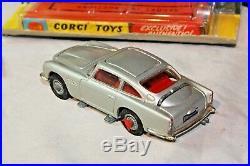 Corgi 270 Bond Aston Martin, Near Mint Condition in Original Winged Box