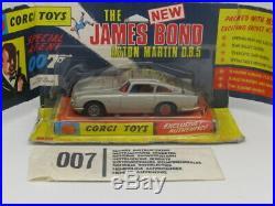 Corgi 270 James Bond 007 Aston Martin Db5 Wing Boxed Original Made In Uk 1968