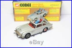 Corgi 270 James Bond Aston Martin DB5 In Its Original Box Near Mint 007