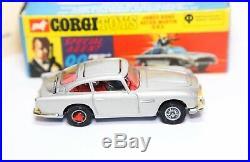Corgi 270 James Bond Aston Martin DB5 In Its Original Box Nr Mint Complete
